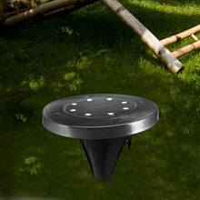 Load image into Gallery viewer, 8 LEDs Solar Powered Light IP65 Waterproof Ground