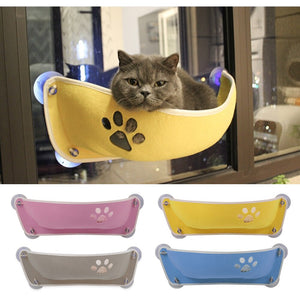 Cat Hammock Soft and Comfortable Pet Window Bed