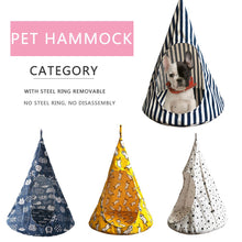 Load image into Gallery viewer, Cat Tent Hammock Hanging Bed Tent Cone Shape