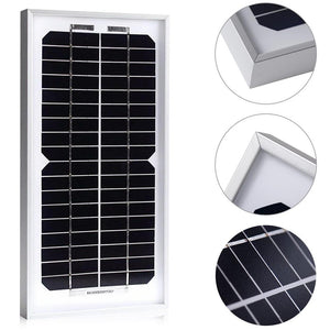 ACOPOWER 5 Watts Mono Solar Panel, 12V