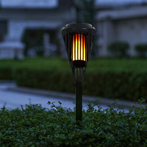 LightMe IP65 Waterproof LED Solar Flickering Flame