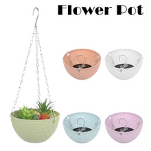 Load image into Gallery viewer, Flower Pot for Succulent Plants Round Plastic