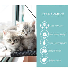 Load image into Gallery viewer, Pet Hanging Cat Bed Mat Soft Cat Hammock Window