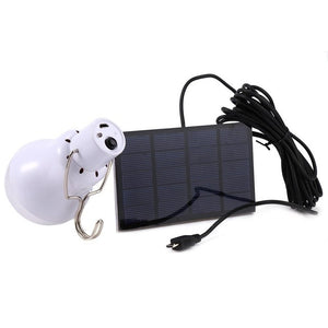 Rechargeable 15W 130LM LED Bulb Portable Solar