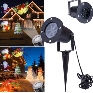 LED Projector Light Outdoor Xmas Landscape Decor