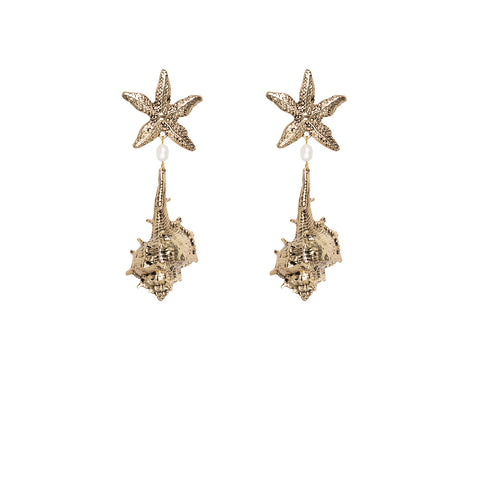 Kitte Positano Gold Earrings