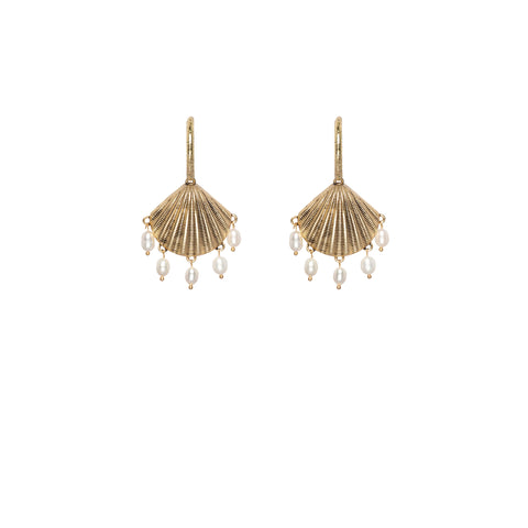 Kitte Santorini Gold Earrings