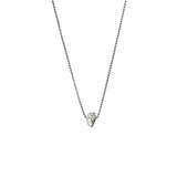 Aletheia & Phos I Carry Your Heart Necklace - Silver