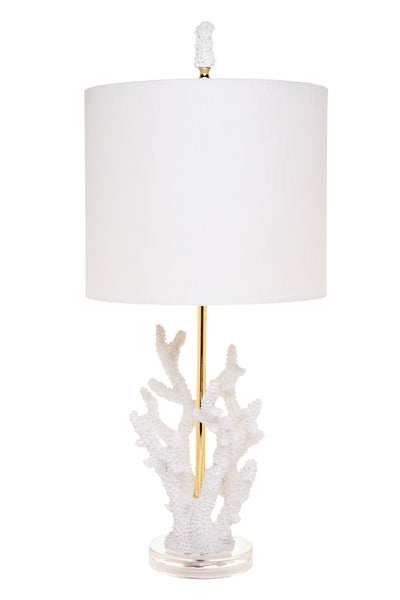 Daphne Table Lamp - White