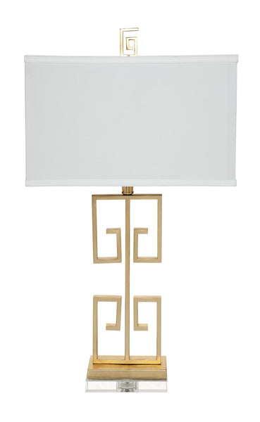 Acropolis Table Lamp - Gold