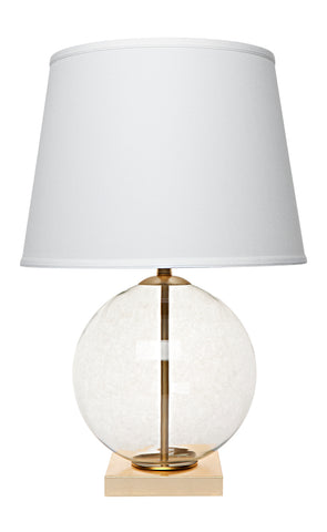 Bocce Table Lamp - Clear
