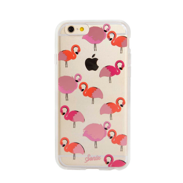 sonix clear coat for iPhone 6/6S - 'flamingo'