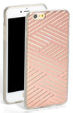 sonix case for iPhone 6/6S Plus - 'criss cross' - rose gold