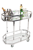 Stella Drinks Trolley - Silver