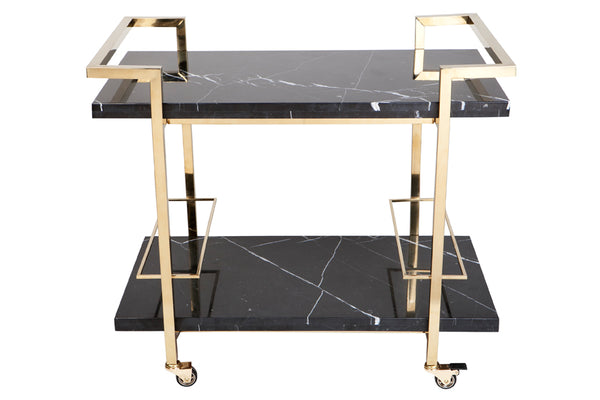 Dolly Drinks Trolley - Black
