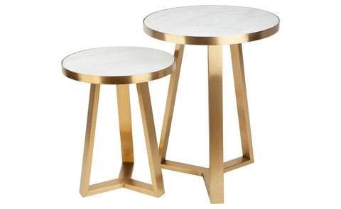 Dwell Side Table - Gold