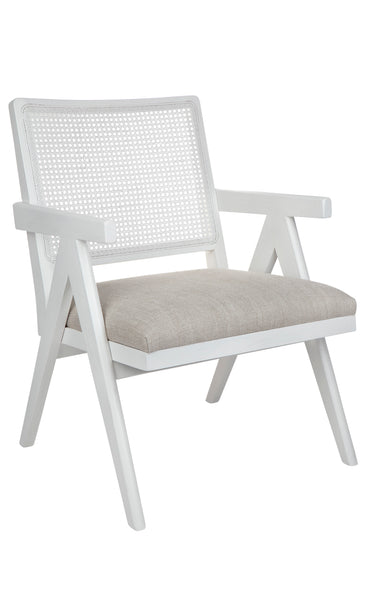 Lola Arm Chair - White