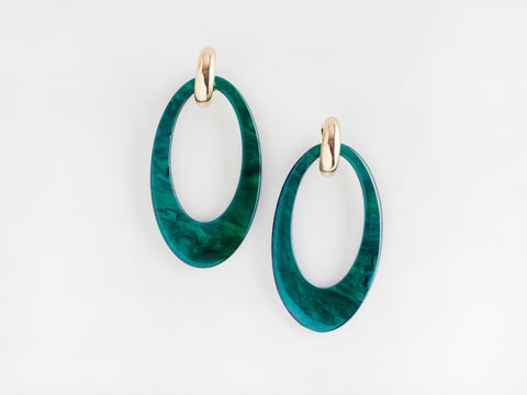 Valet Opulent Earrings - Jade