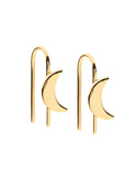 Dear Addison Lunar Earrings - Gold