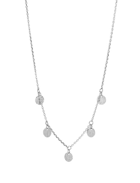 Dear Addison Moonlight Necklace - Silver
