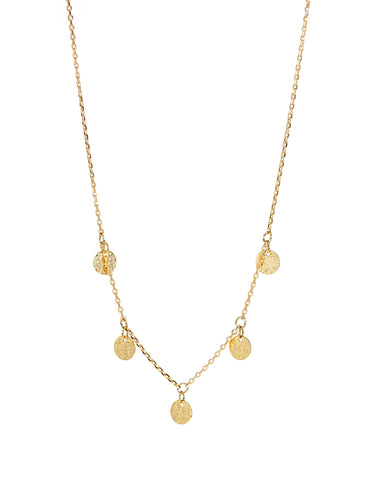 Dear Addison Moonlight Necklace - Gold