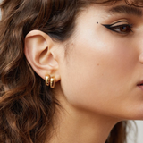 Aletheia & Phos In The Stars Earrings - Gold
