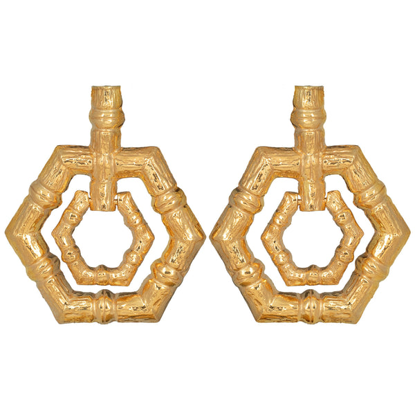 Christie Nicolaides Ventura Earrings - Gold