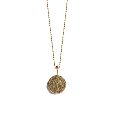 Aletheia & Phos Zodiac Collection - Gold Aries