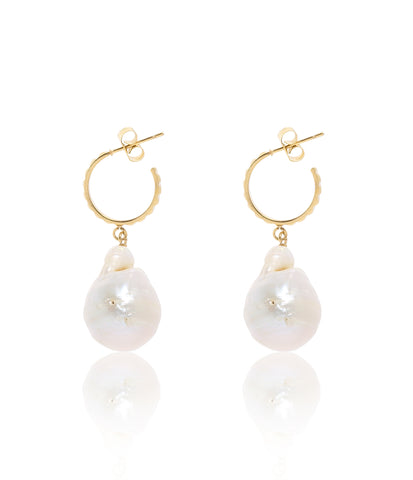 Carly Paiker Aurora Baroque Pearl Earrings