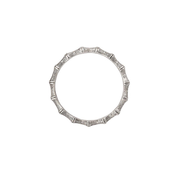 Kitte Bambu Bangle - Silver