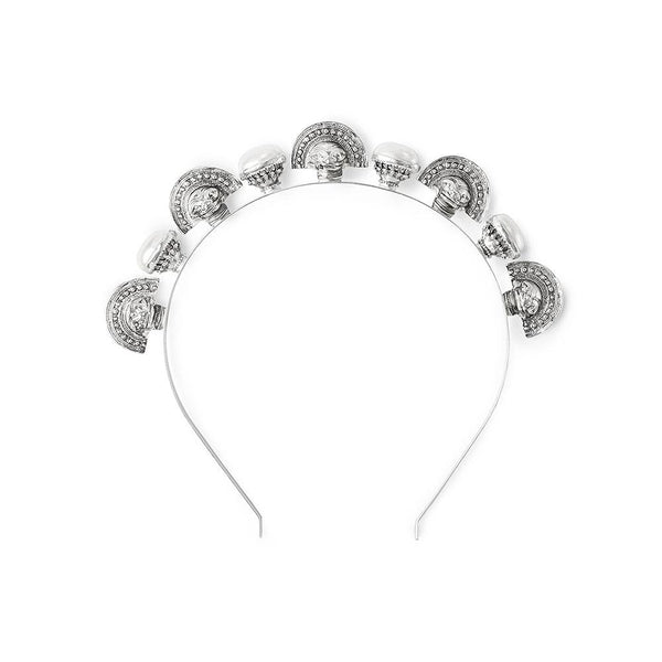 Kitte Crypt Headpiece - Silver