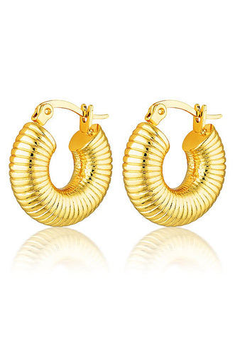 Cendre Isabelle Hoop Earrings