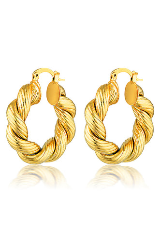 Cendre Charlotte Hoop Earrings