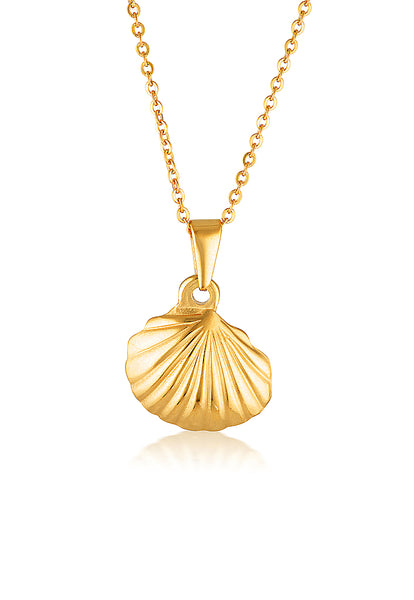 Cendre La Mer Seashell Necklace