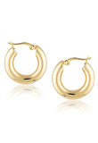 Cendre Bonnie Hoop Earrings