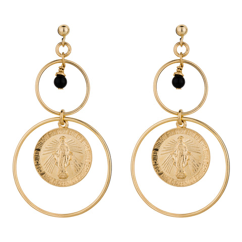 Elvis Et Moi Ave Maria Earrings