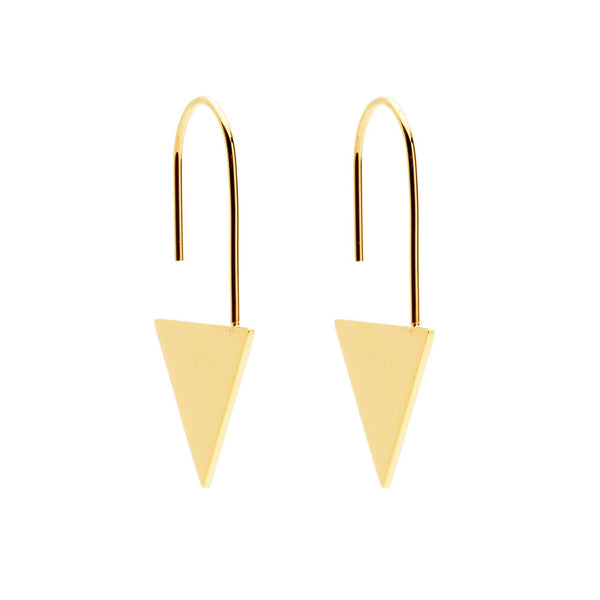 amber sceats 'logan' earrings - gold