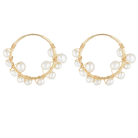 Elvis Et Moi Aiden Small Hoop Earrings