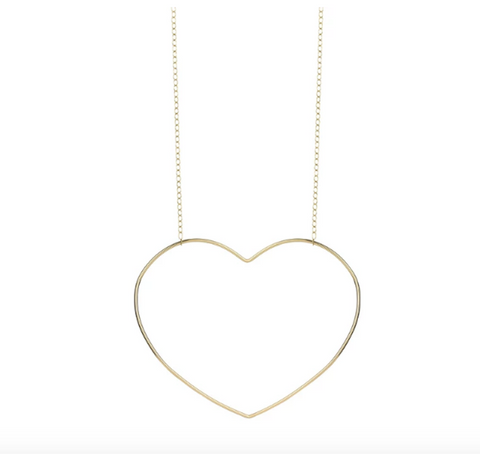 Elvis Et Moi Follow Your Heart Necklace
