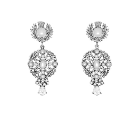 Kitte Eternal Earrings - Silver