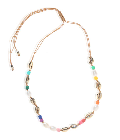 Carly Paiker Fiesta Shell Necklace