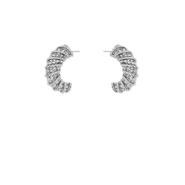 Kitte Fortune Earrings - Silver