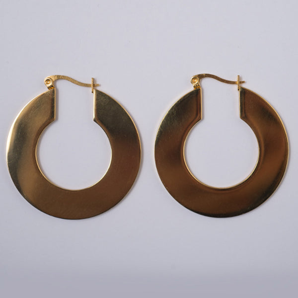 Brie Leon Mirror Hoop Earrings
