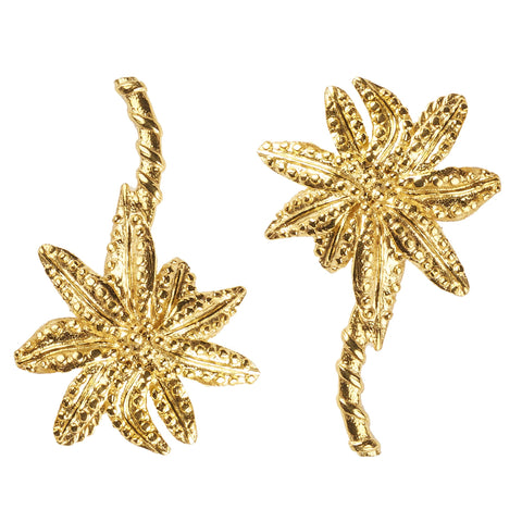 Christie Nicolaides Palmier Earrings - Gold