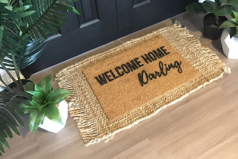 Walk All Over Me - Welcome Home Darling Doormat