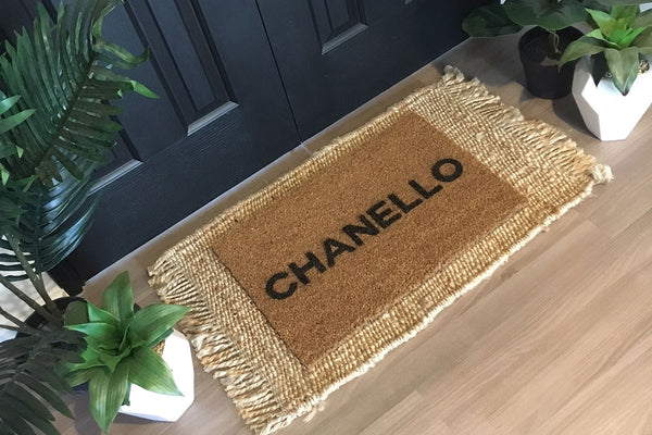 Walk All Over Me - Chanello Doormat