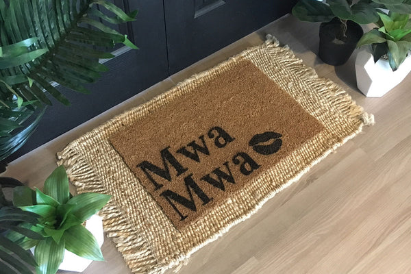 Walk All Over Me - Mwa Mwa Doormat