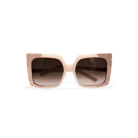 pared eyewear 'sun & shade' sunglasses - blush/rose gold