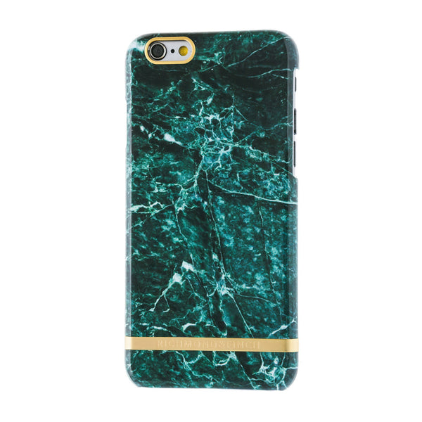 richmond & finch green marble glossy phone case - iPhone 6/6S