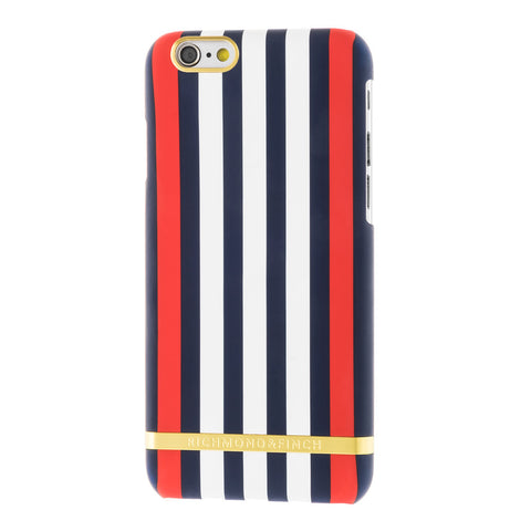 richmond & finch monaco satin stripes phone case - iPhone 6/6S Plus